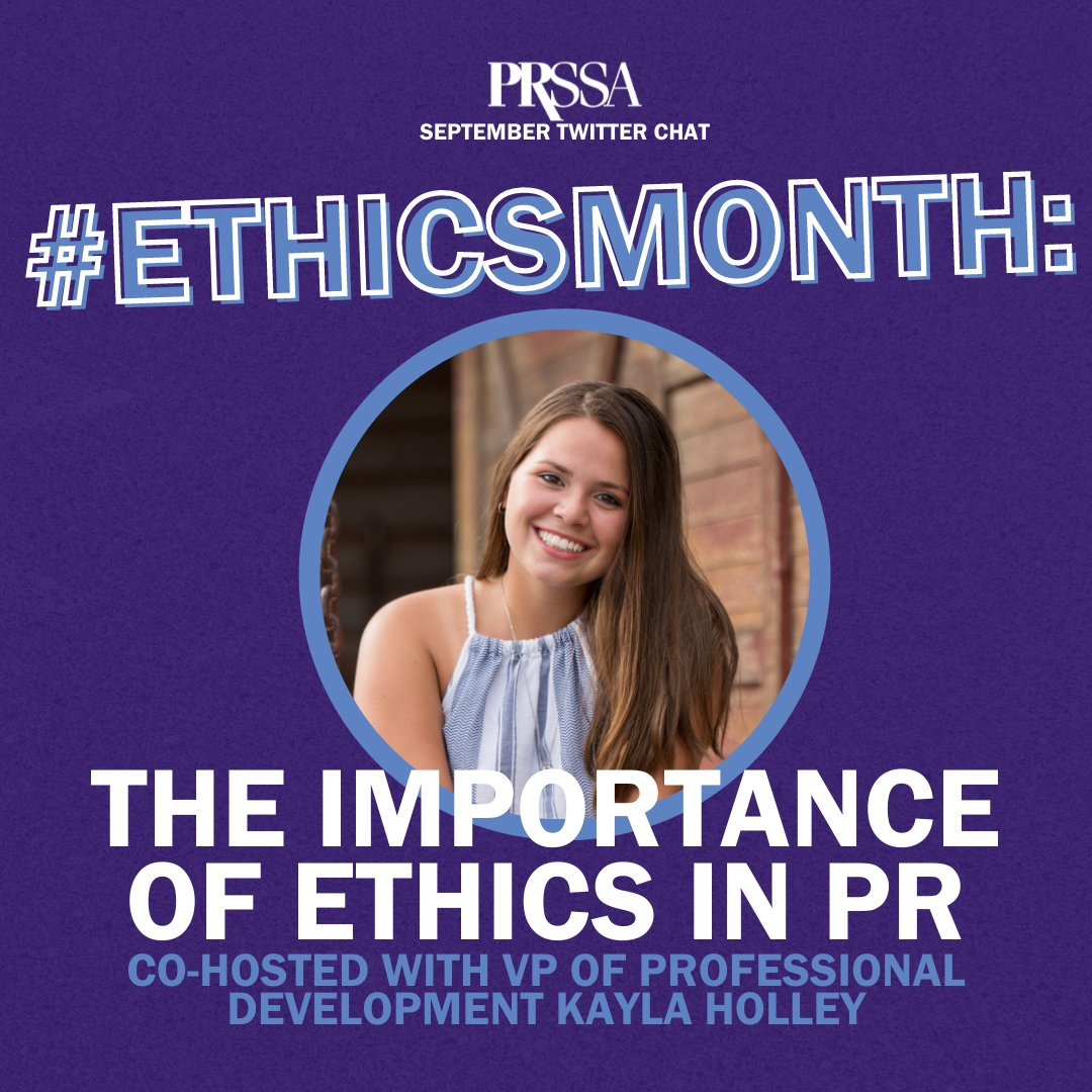 September Twitter Chat: The Importance of Ethics in PR