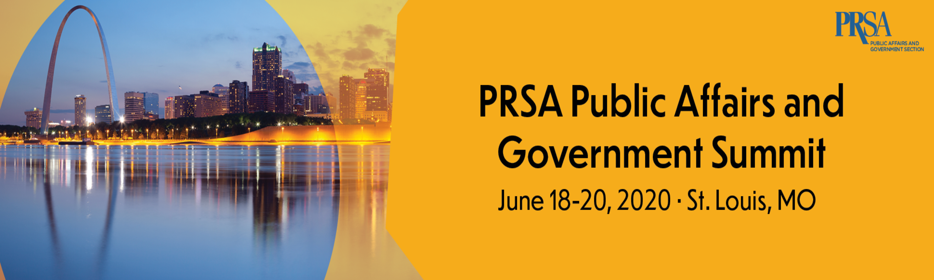 Public Affairs and Government Conference Banner
