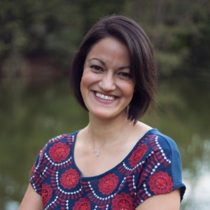 head shot of Nathalie Santa Maria