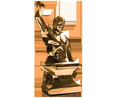 Bronze Anvil Man - Alone - 250 x 200