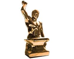 Bronze Anvil Trophy