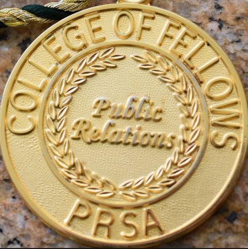 A gold medal for PRSA's College of Fellows