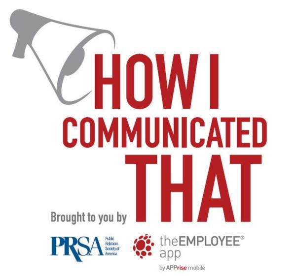 PRSA How I Communicated That
