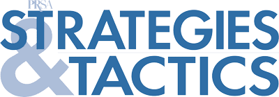 Strategies and Tactics Logo | PRSA