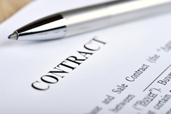Generic contract Image Source [shutterstock]