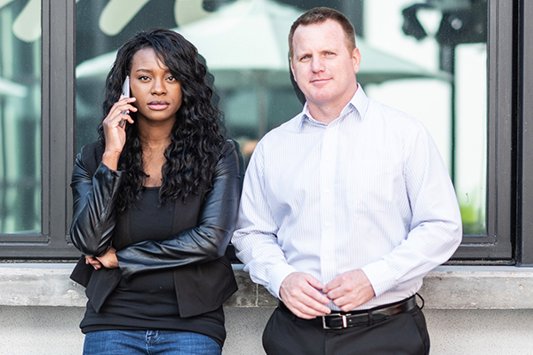 Danielle Bayard Jackson and Josh Talkington are co-founders of STRIDE Media Group in Tampa, Fla.