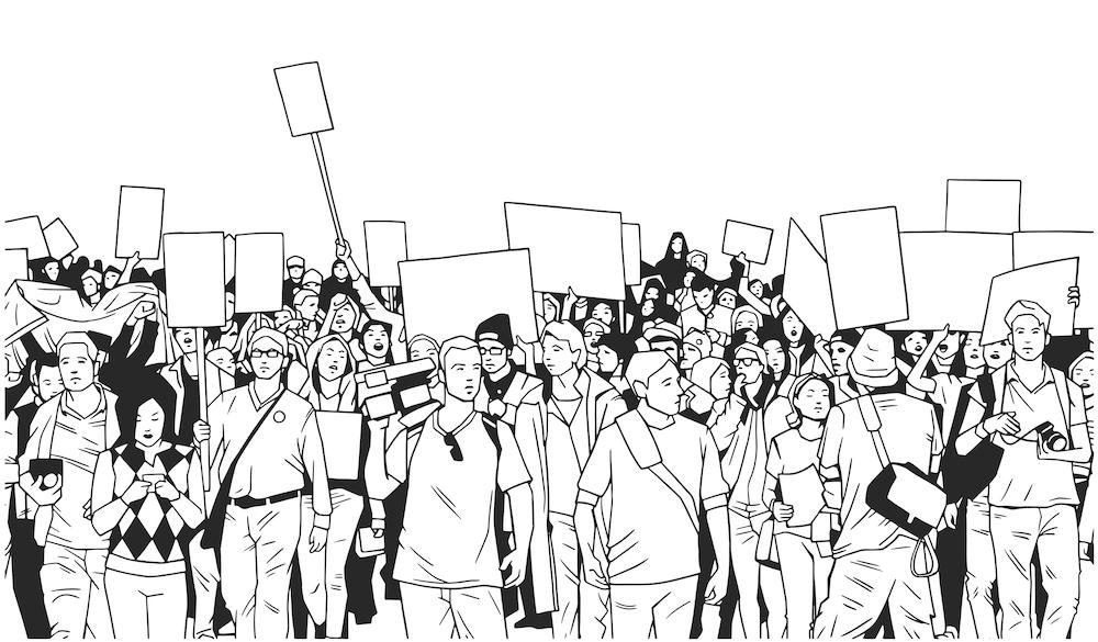 student_protest art